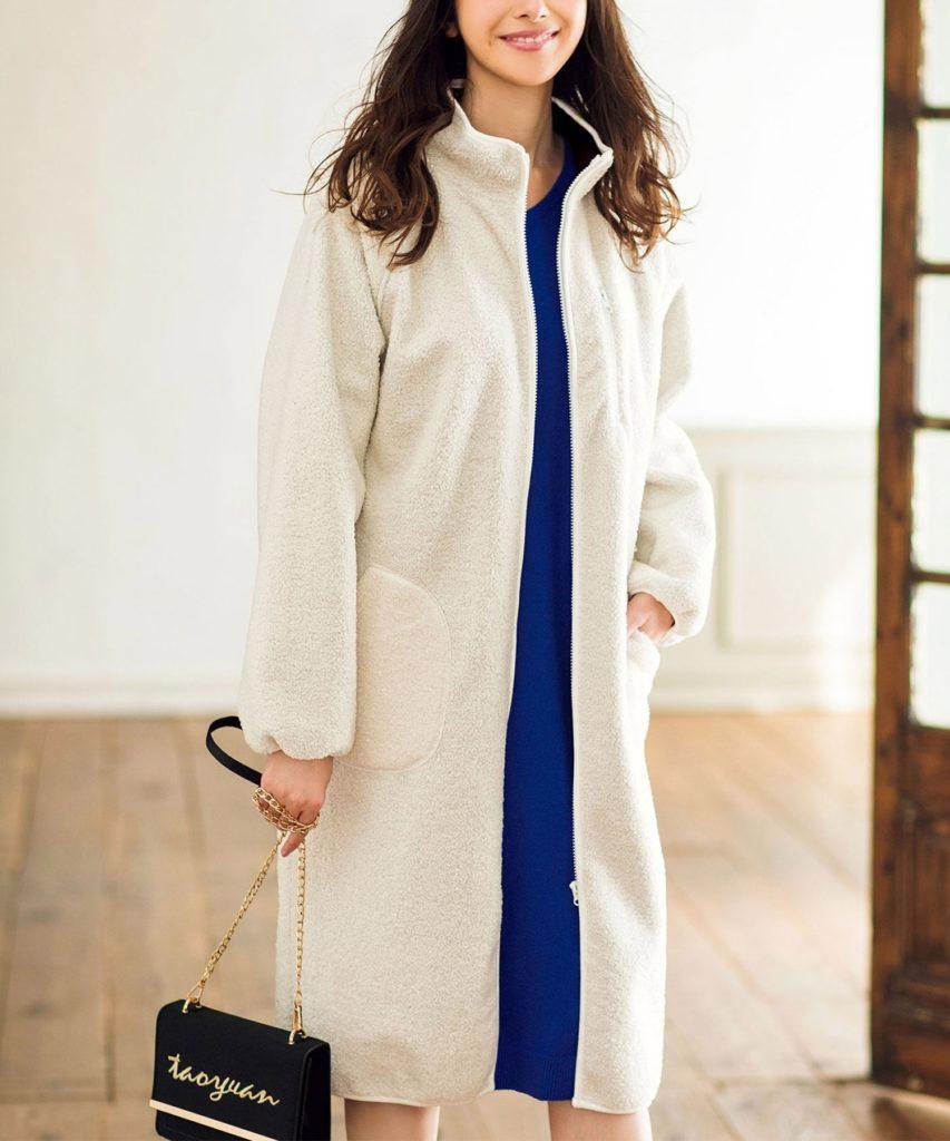 防風ロングボアコート(その他アウター) Ranan(ラナン)のファッション通販 - ZOZOTOWN